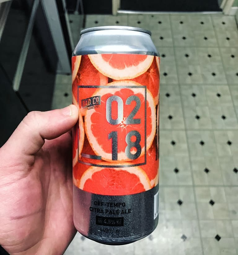latest craft beerAnother one @badcobrewinganddistilling - 02 18 Off Tempo Citra Pale