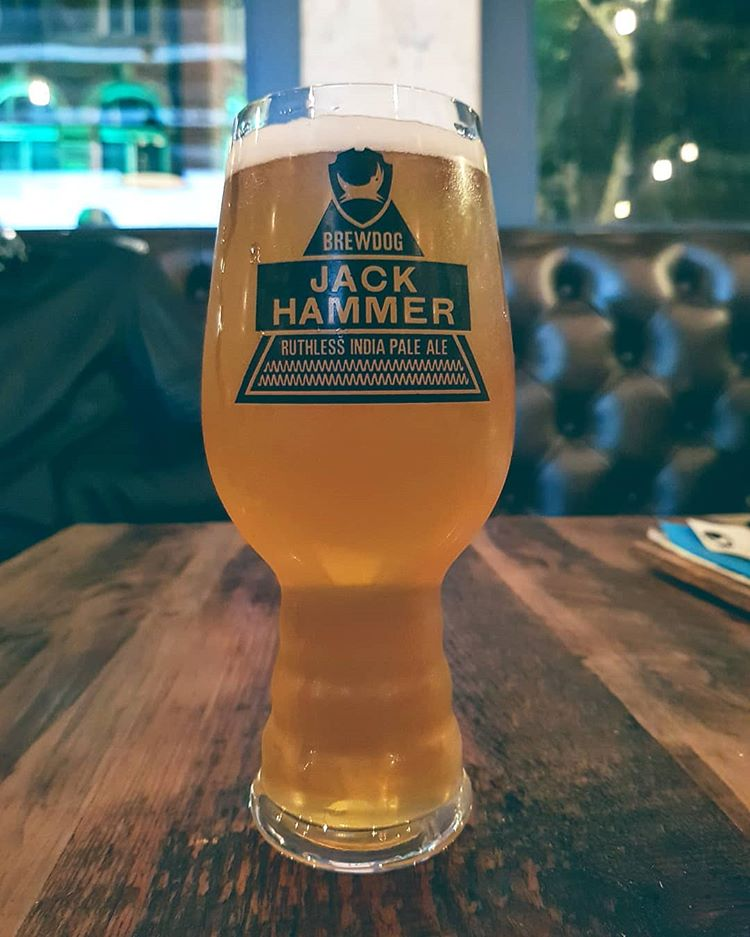 latest craft beer review The last spam trip @brewdogbristol nailing Jack Hammer