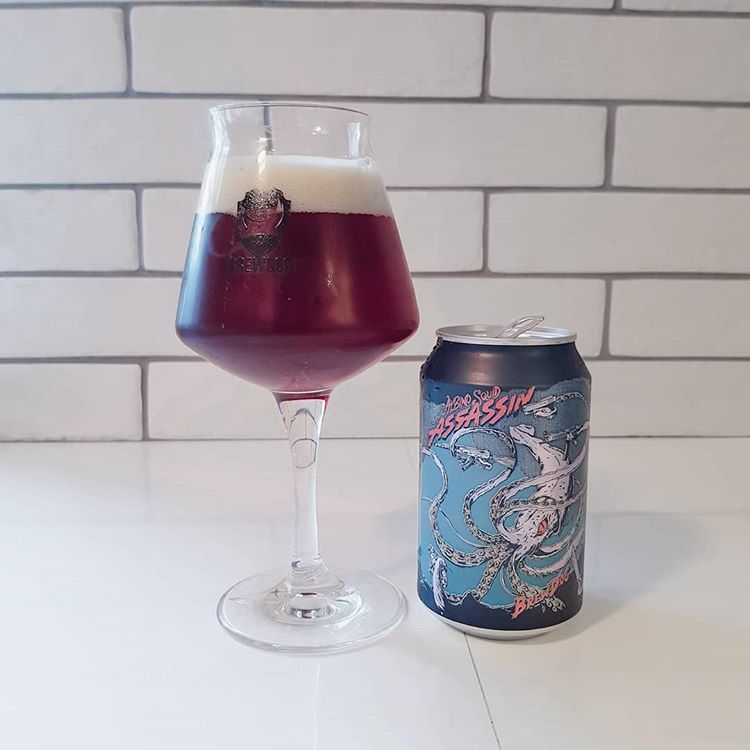 latest craft beer Happy new year! Who else is staggering 2019?  Brewdog Albino Squid Assassin