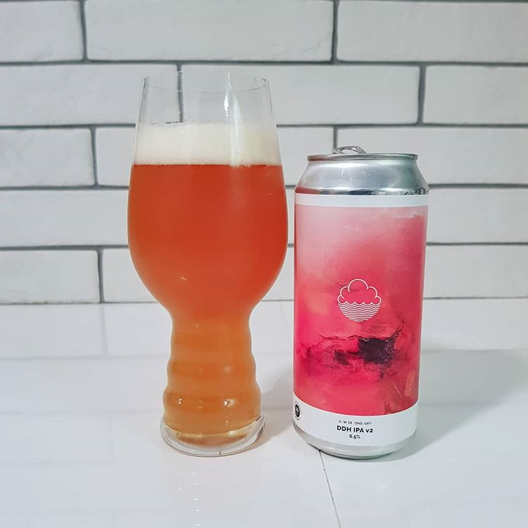latest craft beer DDH DIPA v2 cloudwater