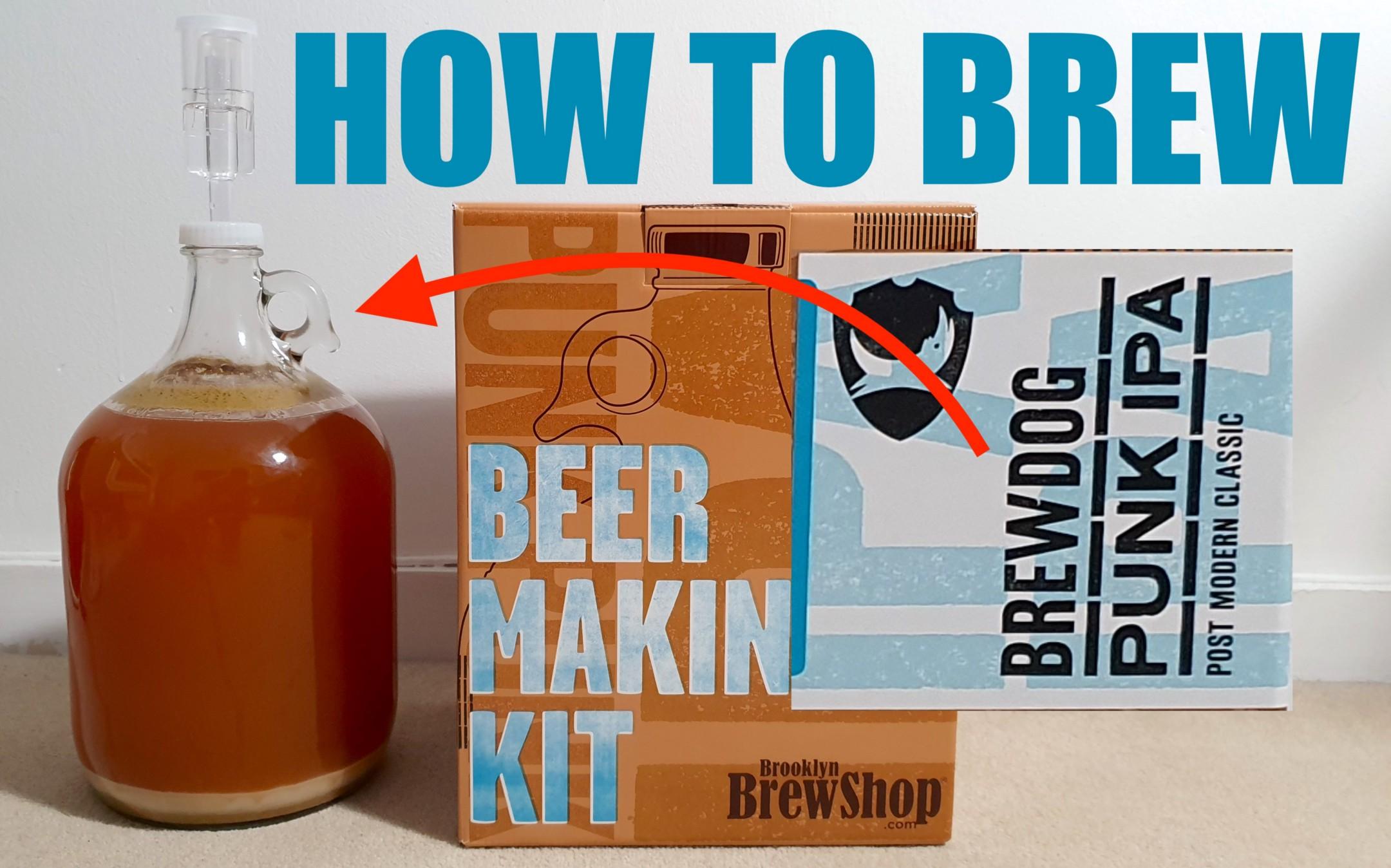 How to homebrew brewdog punk ipa