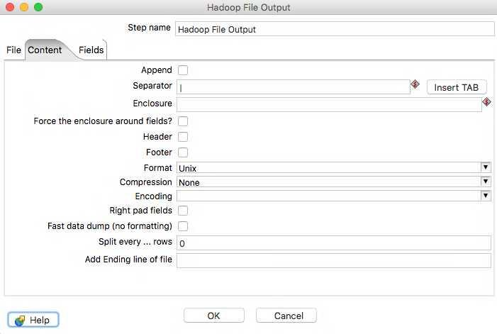 Hadoop file output 2