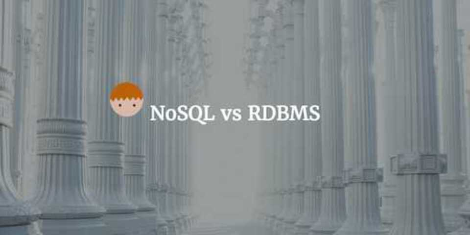 NoSQL databases vs Relational Database RDBMS