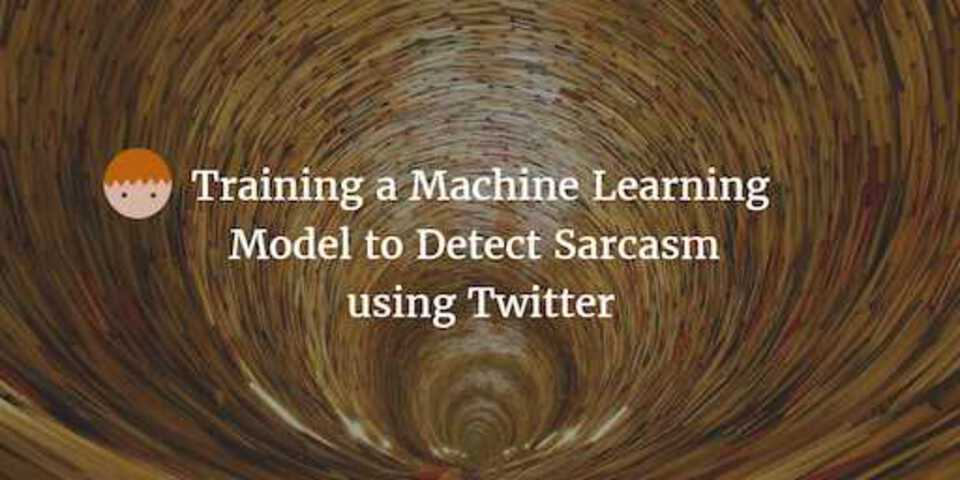 Sarcasm detector in Spark using Machine Learning